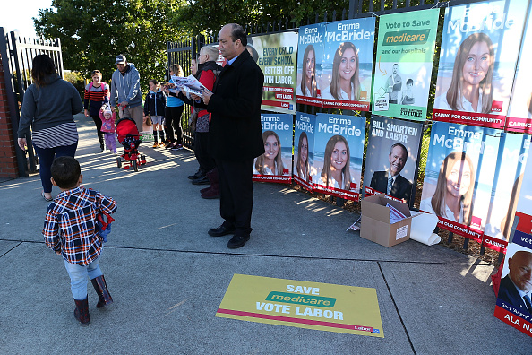 Tony Feder「Australians Head To The Polls To Vote In 2016 Federal Election」:写真・画像(8)[壁紙.com]