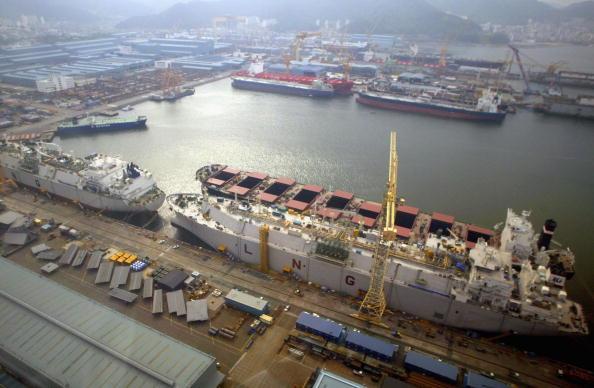 Engineering「Daewoo Develops World's Premium Specialized Shipyard」:写真・画像(7)[壁紙.com]