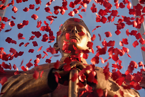 Jeff Brass「The Every Man Remembered Statue Is Displayed In George Square」:写真・画像(6)[壁紙.com]