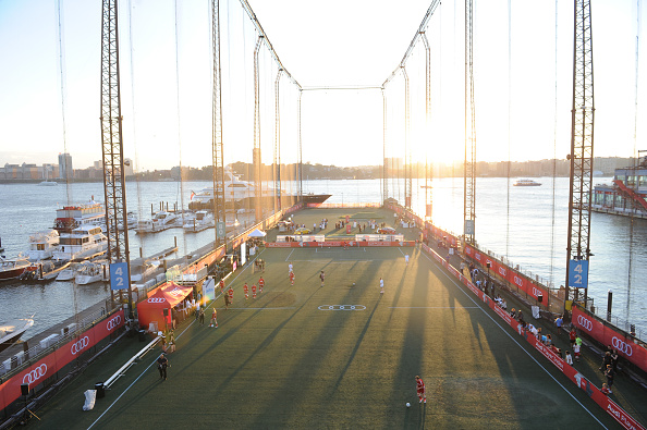 Chelsea Piers「Audi Player Index Pick-Up Match」:写真・画像(0)[壁紙.com]