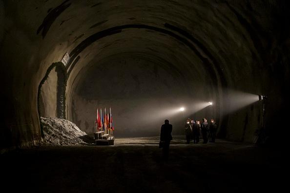 Alto Adige - Italy「Brenner Base Tunnel Work Begins」:写真・画像(13)[壁紙.com]