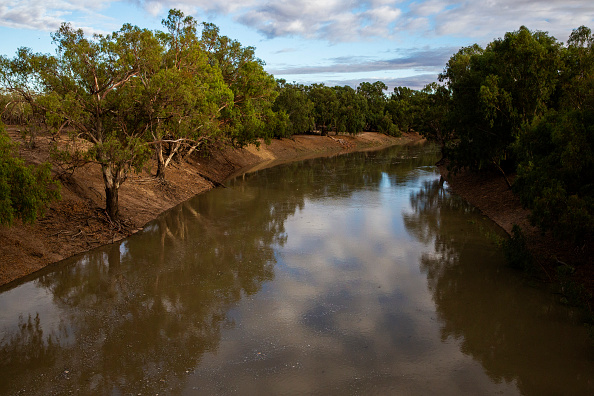 New South Wales「Water Flows Reach Parched Darling River At Louth」:写真・画像(5)[壁紙.com]