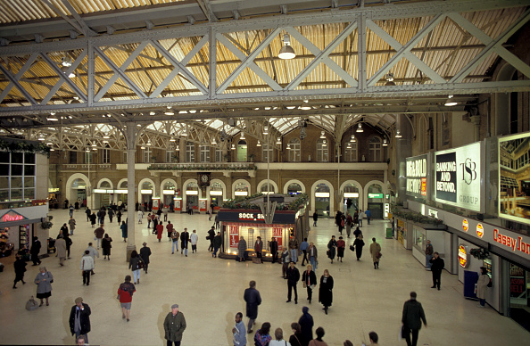 Finance and Economy「General view of the concourse of Marylebone station」:写真・画像(18)[壁紙.com]