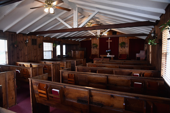 Empty「General Views Of The Little Brown Church In The Valley Where Ronald And Nancy Reagan Were Married」:写真・画像(16)[壁紙.com]