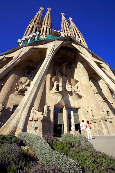 Sagrada Familia - Barcelona「General View Sagrada Familia Cathedral」:写真・画像(4)[壁紙.com]