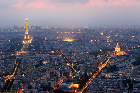 Eiffel Tower「General view of Paris」:写真・画像(7)[壁紙.com]