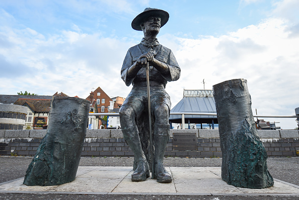 Finnbarr Webster「Baden-Powell Statue To Be Removed From Poole Quay」:写真・画像(3)[壁紙.com]