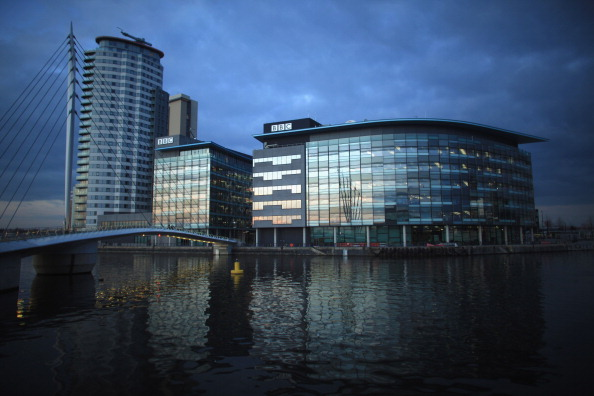 BBC「Construction Continues On The New ITV Buildings In Media City Next To The BBC Headquarters」:写真・画像(11)[壁紙.com]