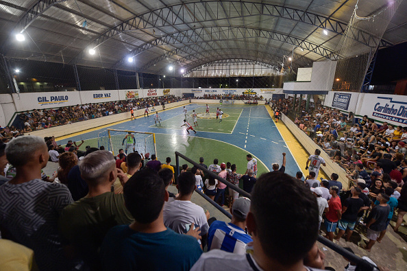 Para State「Futsal Championship Final At A Crowded Arena In Marajo Island Amidst The Coronavirus (COVID-19) Pandemic」:写真・画像(14)[壁紙.com]