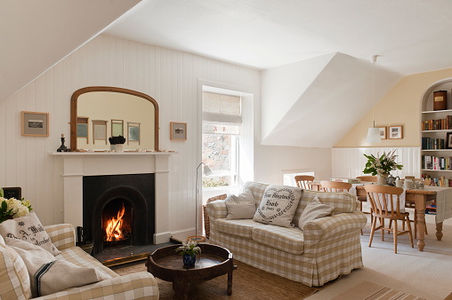Rustic「The Rookery, Holiday Cottage Scotland」:スマホ壁紙(10)