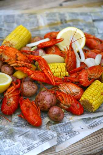 Cajun Food「Crawfish boil」:スマホ壁紙(13)