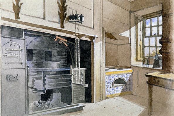 Oven「Kitchen range and Dutch oven, no 21 Austin Friars Street, City of London, 1885. Artist: John Crowther」:写真・画像(10)[壁紙.com]