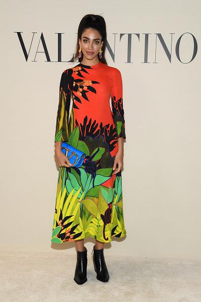 Tropical Pattern「Valentino : Front Row - Paris Fashion Week Womenswear Fall/Winter 2020/2021」:写真・画像(14)[壁紙.com]