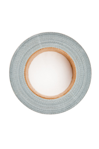 Duct Tape「Adhesive tape lying on a white background」:スマホ壁紙(18)