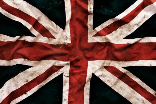 ユニオンジャック「Grungy 英国国旗」:スマホ壁紙(11)