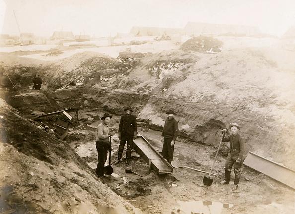 1900-1909「Placer Mining With Sluice,」:写真・画像(19)[壁紙.com]