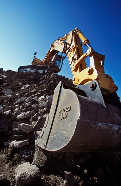 Danger「Crawler excavator on site.」:写真・画像(17)[壁紙.com]