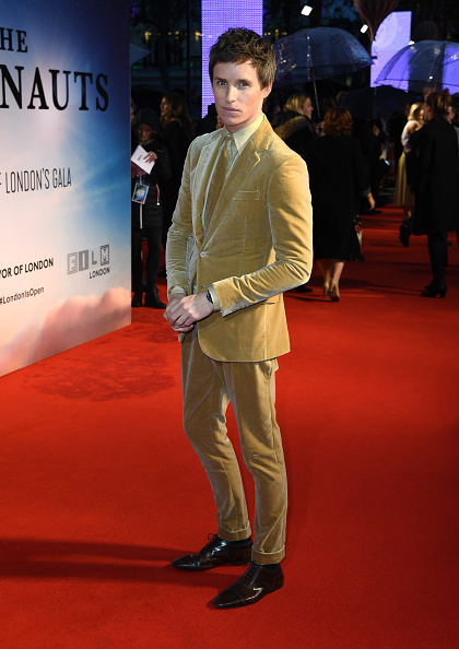 "Eddie Redmayne「""The Aeronauts"" UK Premiere - 63rd BFI London Film Festival」:写真・画像(16)[壁紙.com]"