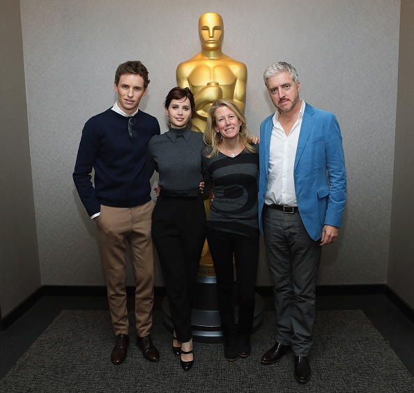 Black Pants「The Academy Of Motion Picture Arts And Sciences Hosts An Official Academy Members Screening Of The Theory Of Everything」:写真・画像(15)[壁紙.com]