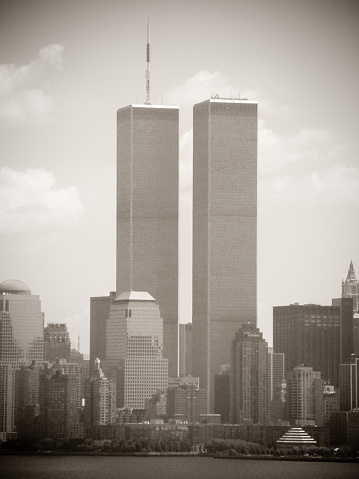 Sepia Toned「Word Trade Center, New York City 2001, sepia toned」:スマホ壁紙(8)