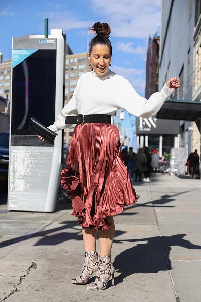 Achim Aaron Harding「Street Style - New York Fashion Week February 2019 - Day 2」:写真・画像(6)[壁紙.com]