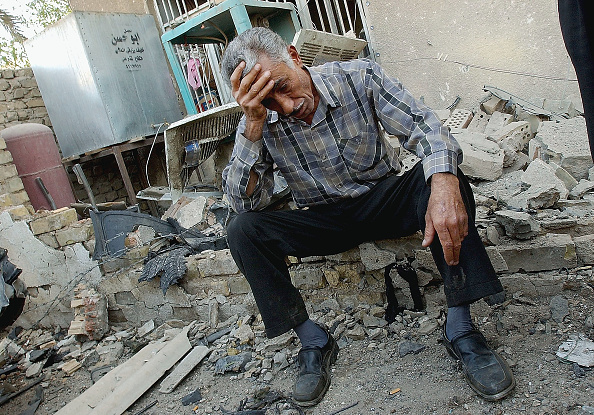 Front View「At Least 40 Killed In Triple Baghdad Bombing」:写真・画像(1)[壁紙.com]