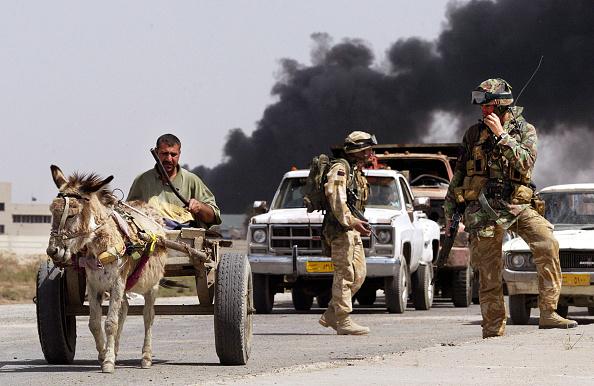 Iraq War 2003-2011「Fighting Continues In Basra」:写真・画像(7)[壁紙.com]
