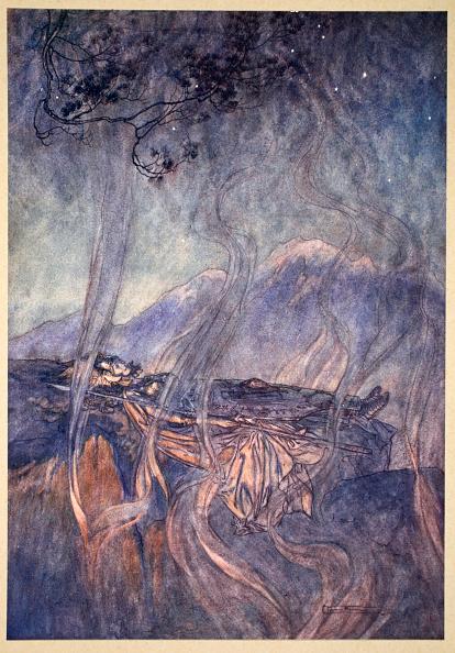 God「The Sleep Of Brunnhilde' 1910」:写真・画像(1)[壁紙.com]