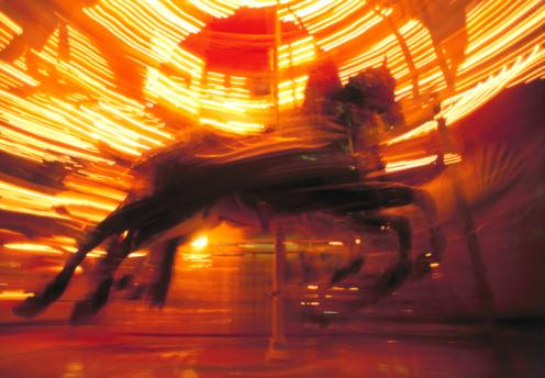 Carousel Horses「Horse on Carousel」:スマホ壁紙(8)