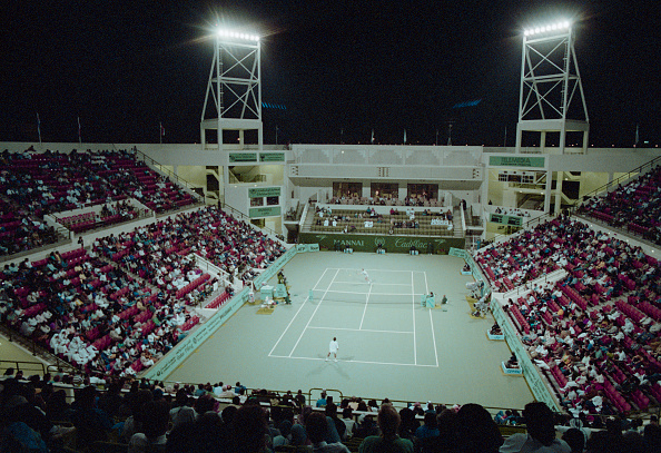 Lighting Equipment「Mannai Cadillac Qatar Tennis Open」:写真・画像(19)[壁紙.com]