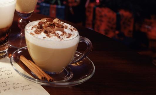 ココア「Cappuccino with chocolate and cinnamon sticks」:スマホ壁紙(10)