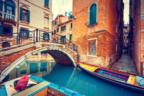 Auto Post Production Filter「Bridge in Venice」:スマホ壁紙(13)