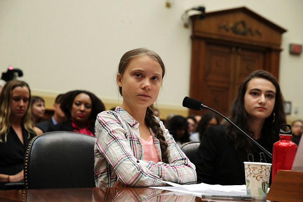 Bestpix「Climate Activist Greta Thunberg Visits Capitol Hill To Speak To Lawmakers」:写真・画像(18)[壁紙.com]