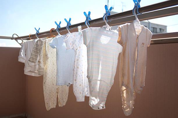 Laundry of baby clothes:スマホ壁紙(壁紙.com)