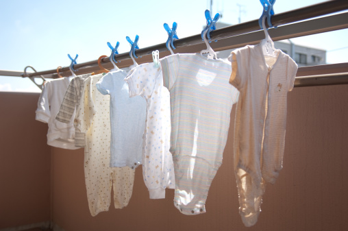 Laundry「Laundry of baby clothes」:スマホ壁紙(9)