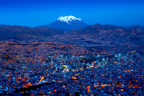 Bolivian Andes「Mount Illimani, La Paz, Bolivia」:スマホ壁紙(9)