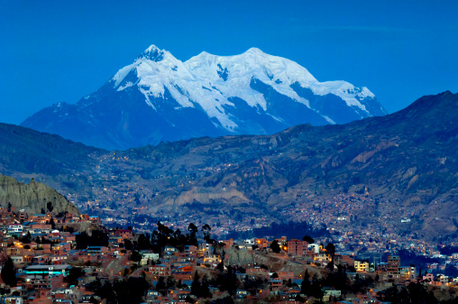 Bolivian Andes「Mount Illimani, La Paz, Bolivia」:スマホ壁紙(5)