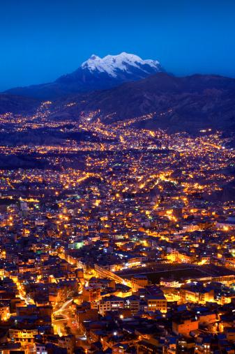 Bolivian Andes「Mount Illimani, La Paz, Bolivia」:スマホ壁紙(19)