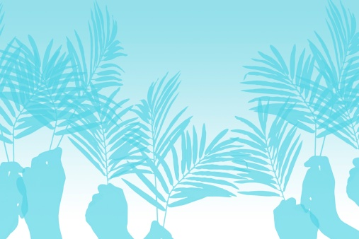 Surrendering「Palm Sunday Worship Hands」:スマホ壁紙(19)