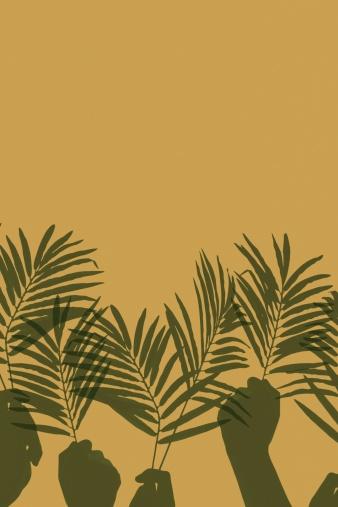 Surrendering「Palm Sunday Worship Hands」:スマホ壁紙(18)