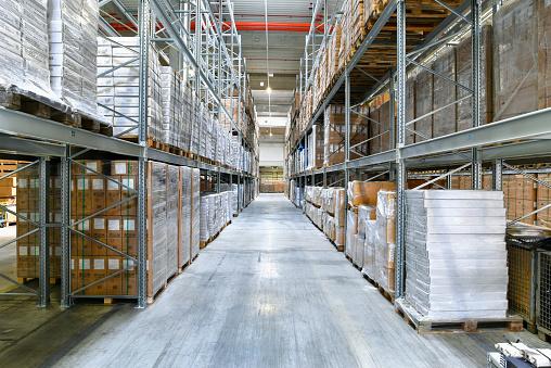 ������「High rack warehouse」:スマホ壁紙(10)
