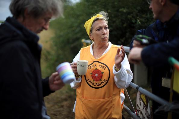 Shale「Hundreds of Activists Gather At Blackpool Anti-Fracking Camp」:写真・画像(9)[壁紙.com]