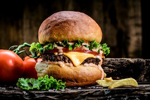 Gourmet「Burger」:スマホ壁紙(16)