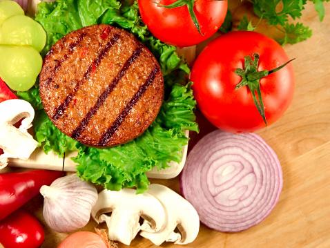 Veggie Burger「Burger」:スマホ壁紙(5)