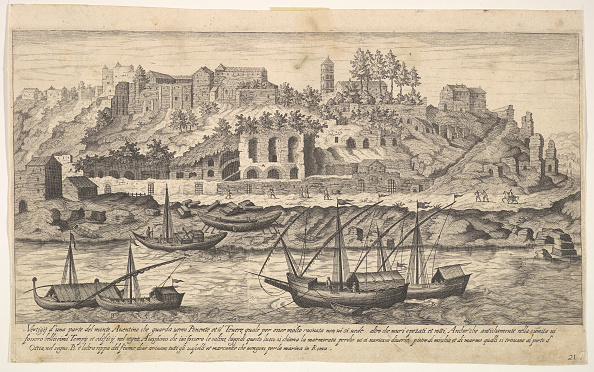 17th Century「Plate 21: View From The West Of Ruins Of The Aventine Hill」:写真・画像(16)[壁紙.com]