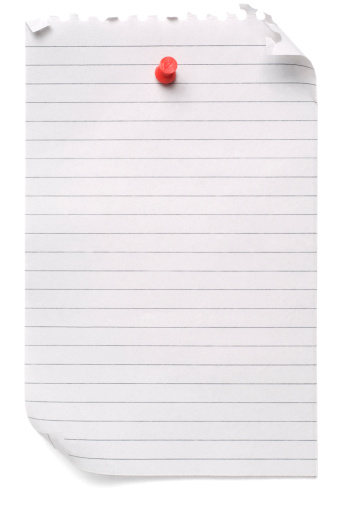 Letter - Document「Lined blank note paper」:スマホ壁紙(7)