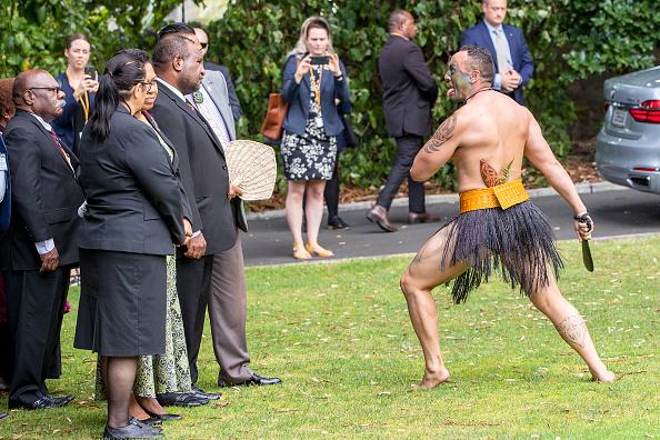 Auckland「Papua New Guinea Prime Minister James Marape Visits Auckland」:写真・画像(4)[壁紙.com]