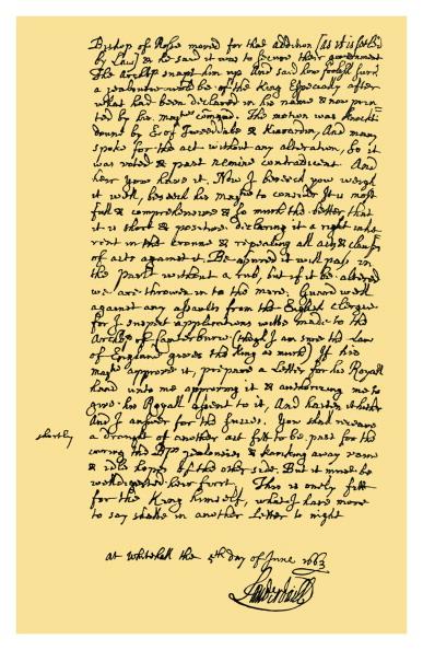 Writing「Autograph: John Maitland, Duke of Lauderdale」:写真・画像(3)[壁紙.com]