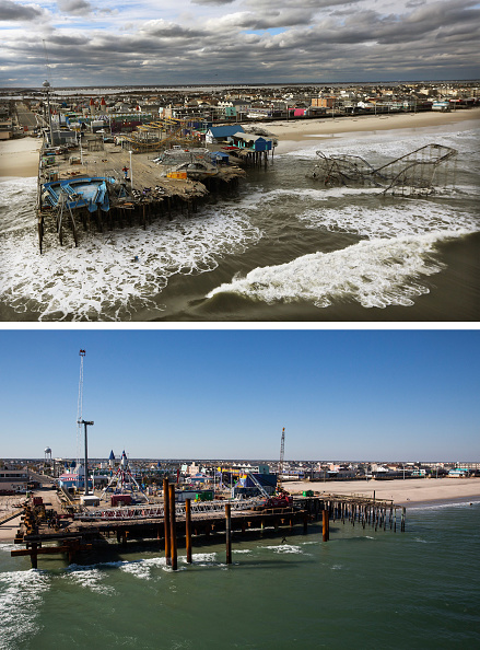 Damaged「Then And Now: Recovery After Hurricane Sandy」:写真・画像(14)[壁紙.com]