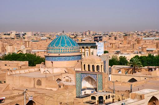 Iranian Culture「Iran, Yazd, cityscape」:スマホ壁紙(19)